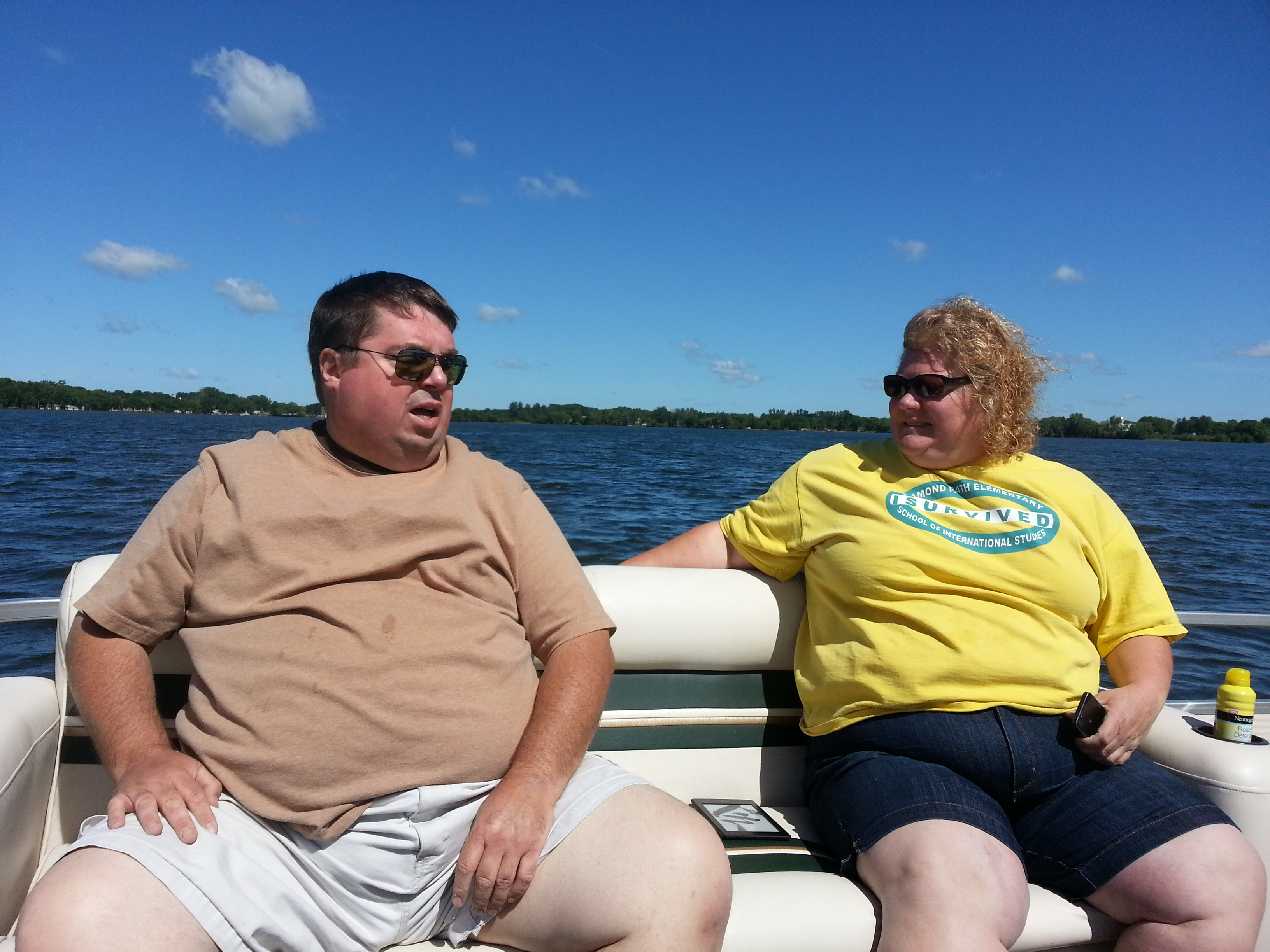 Janet and Duane Out on the Lake