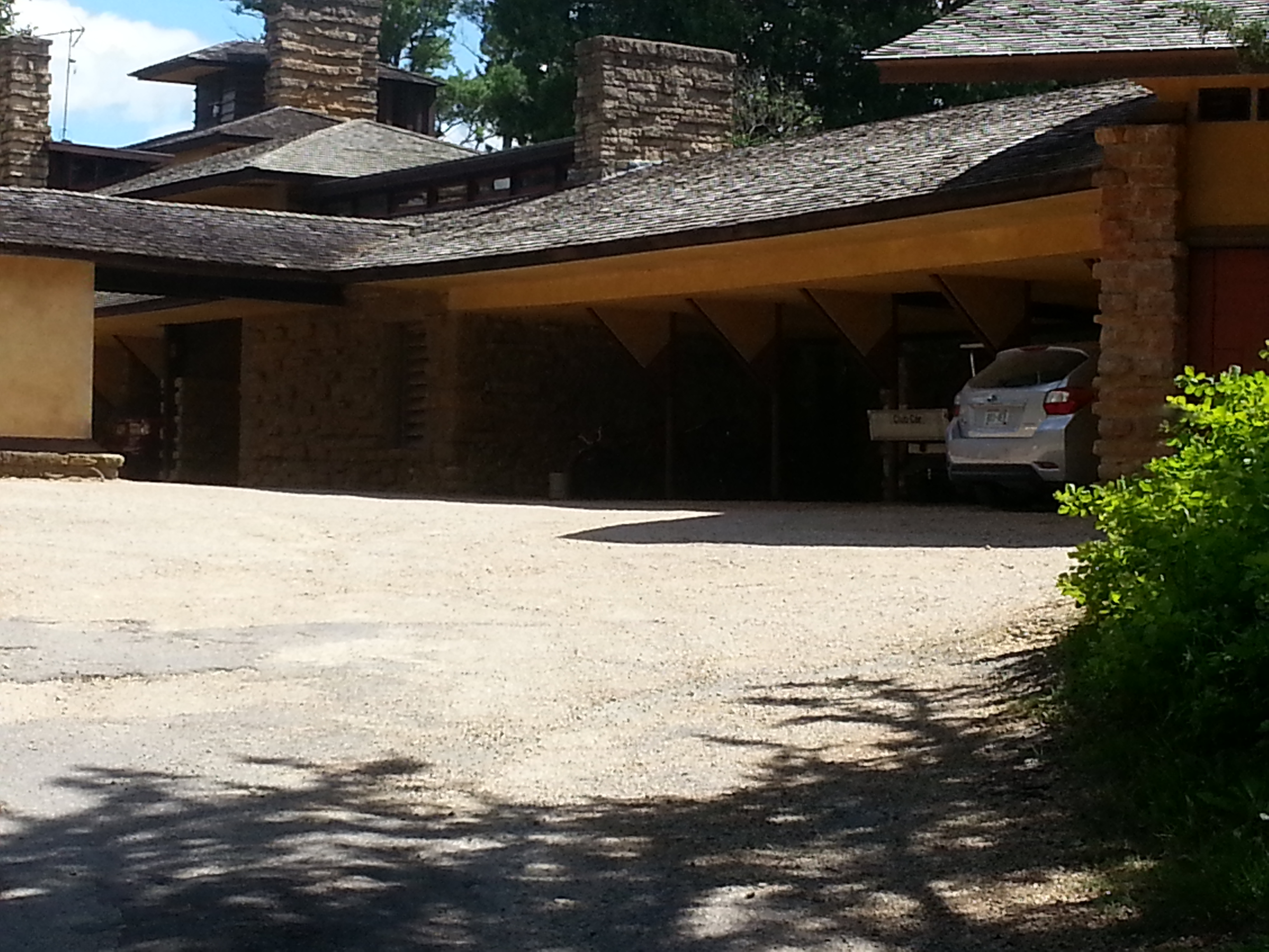 Taliesin Front Elevation