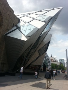 Royal Ontario Museum, front entrance