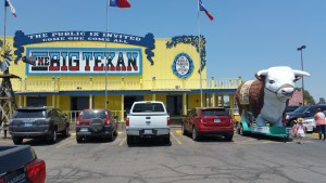 World famous Big Texan steakhouse in Amarillo
