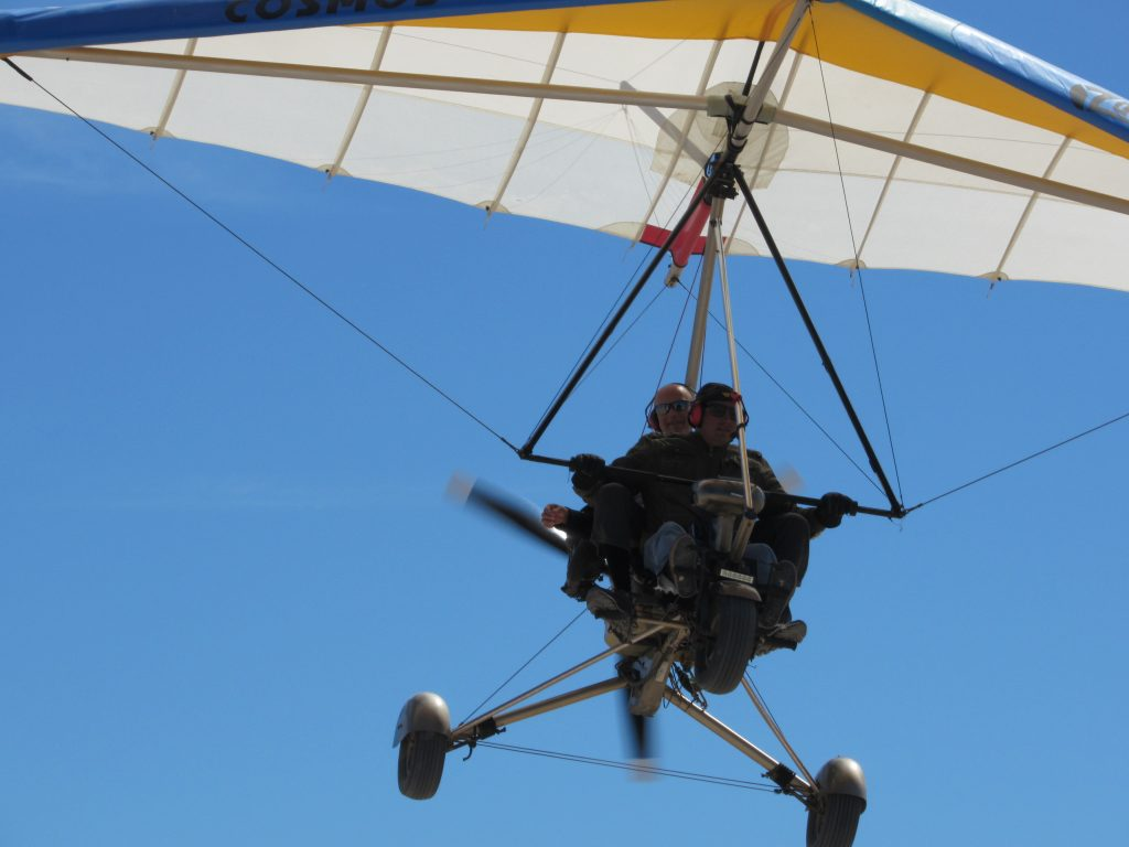 My ultralight flight in Puerto Penasco.